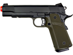 KJW 1911 Black Beauty Pistol (ASPG137G) / Green Gas / CO2 Airsoft Pistol - Totowa Airsoft