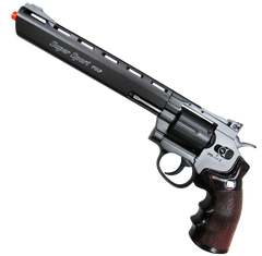 "8"" Dirty Harry Revolver (ASPC146) / CO2 Revolver Airsoft Pistol - Totowa Airsoft"