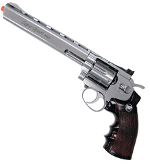 "8"" Dirty Harry Revolver (ASPC146S) / CO2 Revolver Airsoft Pistol - Totowa Airsoft"
