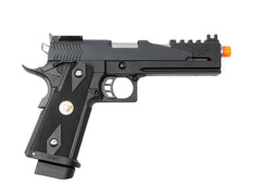 KJW Hi-Capa 1911 Dragon Slayer Short Pistol (ASPG189B-S) / Green Gas / CO2 Airsoft Pistol - Totowa Airsoft