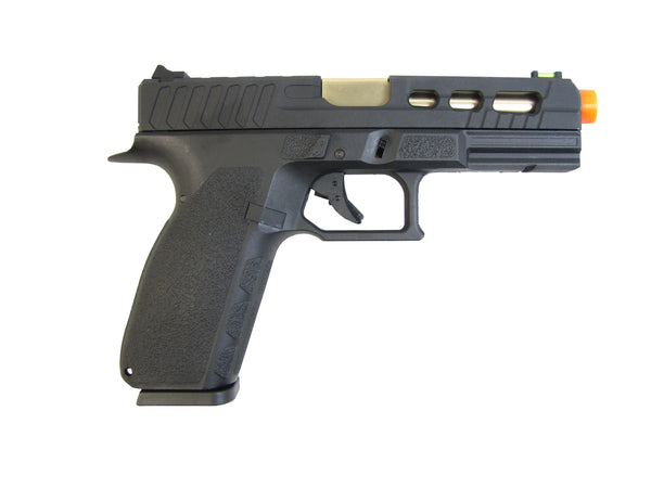 KP13C Custom Hi-Capa Tactical Pistol (ASPG198) / Green Gas / CO2 Airsoft Pistol - Totowa Airsoft
