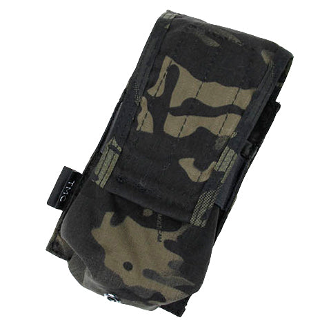 417 Magazine MOLLE Pouch Black Camo (M4MP417) / Airsoft Rifle Magazine Pouch - Totowa Airsoft