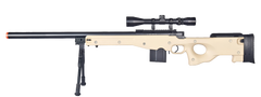 L96 Sniper Rifle (ASRS218T) / Spring Sniper Rifle - Totowa Airsoft