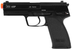 H&K USP .45 Pistol by KWA (ASPG123) / Green Gas Airsoft Pistol - Totowa Airsoft