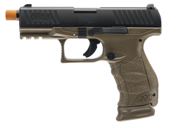 Walther PPQ Pistol by VFC (ASPG150-2T) / Green Gas Airsoft Pistol - Totowa Airsoft