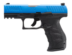 Walther PPQ .43 Trainer Pistol by VFC (TWPPQBLU) / CO2 Airsoft Pistol - Totowa Airsoft
