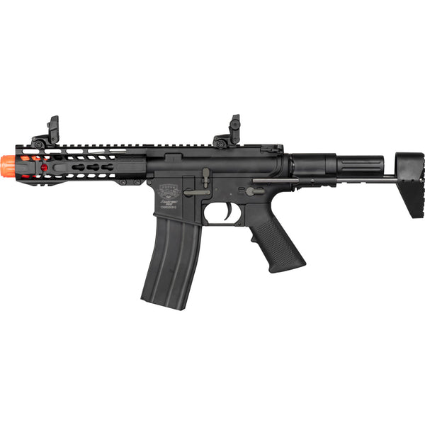 Valken Alloy PDW Rifle (ASRE327) / AEG Airsoft Rifle - Totowa Airsoft
