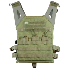 Valken OD Lightweight Plate Carrier II Vest (PC2OLV) / Tactical Vest - Totowa Airsoft