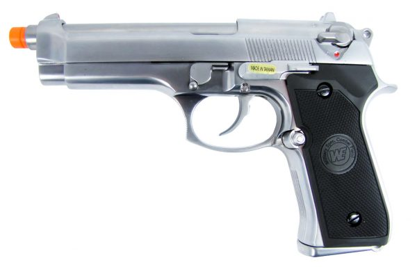 M9 Silver Surfer Pistol (ASPG132) / Green Gas / CO2 Airsoft Pistol - Totowa Airsoft