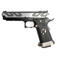 Hi-Capa Tron 1911 Pistol by Armorer Works Custom (ASPG187) / Green Gas Airsoft Pistol - Totowa Airsoft
