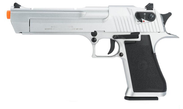 Silver Desert Eagle by KWC (ASPC125S) / CO2 Airsoft Pistol - Totowa Airsoft