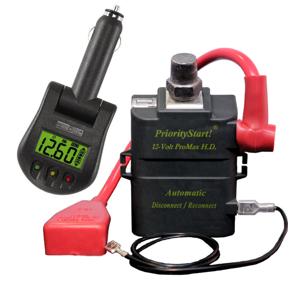 Battery And Charging System Monitor : Prioritystart rural motor