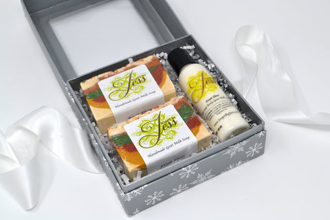 Soaps & Lotion Gift Set