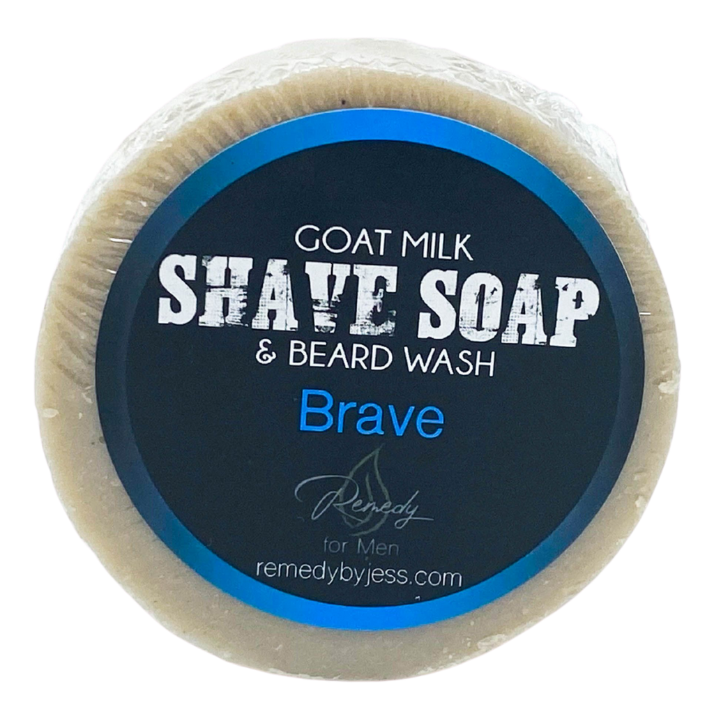 Brave Shave Soap & Beard Wash