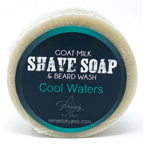Cool Waters Shave Soap & Beard Wash