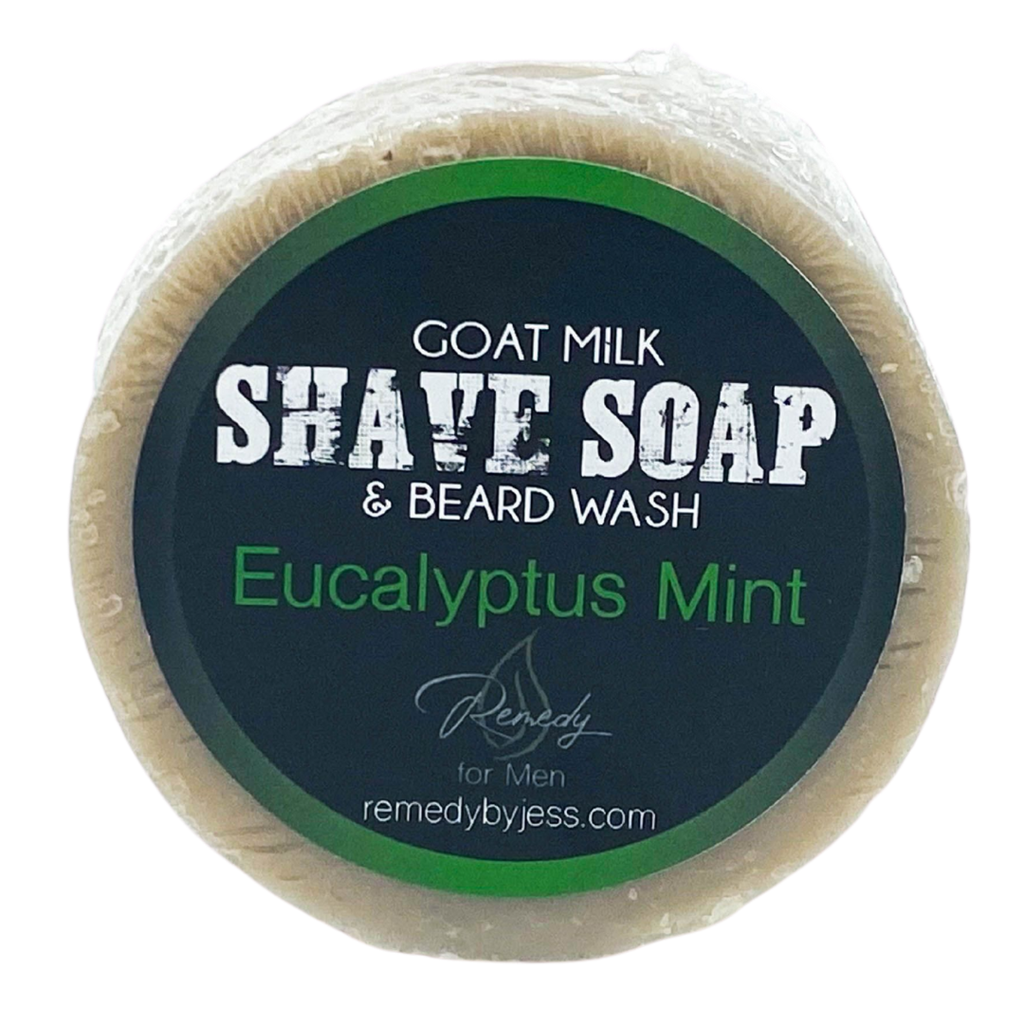 Eucalyptus Mint Shave Soap & Beard Wash