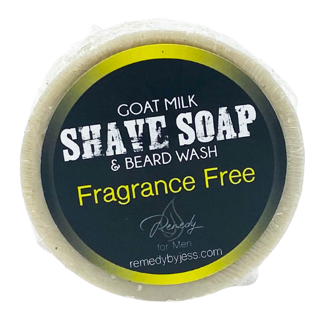 Fragrance Free Shave Soap & Beard Wash