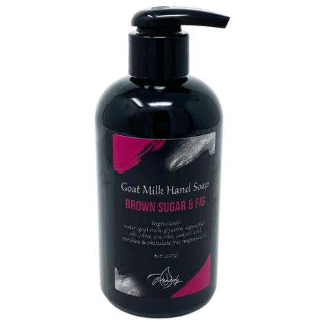 Brown Sugar & Fig Goat Milk Hand Soap *Seasonal*