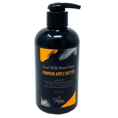 Pumpkin Apple Butter Goat Milk Hand Soap *Seasonal*