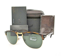PERSOL PO8649S 24/31 Havana / Green Lens 53mm Sunglasses