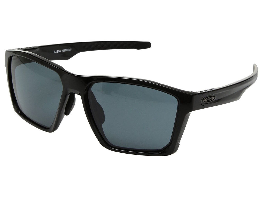 Oakley Targetline A OO9398-0158 Polished Black / Prizm Grey Sunglasses