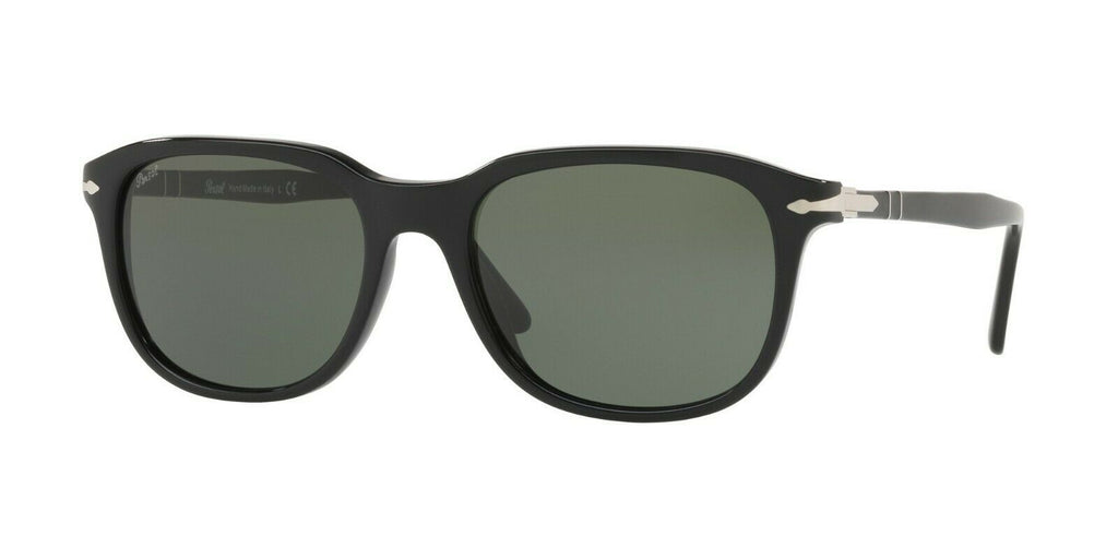 Persol PO3191S 95/31 Black / Crystal Green 55mm Sunglasses