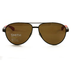 SMITH Salute 04IN Matte Brown Red / Brown Polarized 59mm Sunglasses
