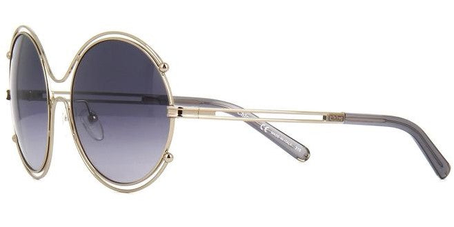 Chloé Isidora CE122S 744 Gold Grey / Grey Gradient 59mm Sunglasses