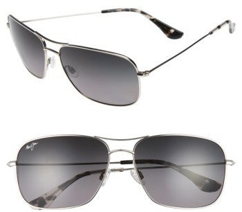 Maui Jim Breezeway GS773-17 Silver / Neutral Grey Polarized Sunglasses