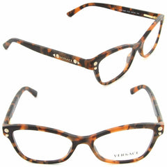 VERSACE VE3208A 5133 Matte Havana / Demo Lens 54mm Eyeglasses