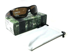 SMITH Frontman/S 0ATD Brown Stripe / Brown Polarized 61mm Sunglasses