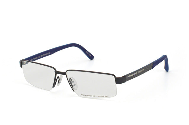 PORSCHE DESIGN P8224A 0000-E87 Matte Black Blue / Demo Lens 55mm Eyeglassesess