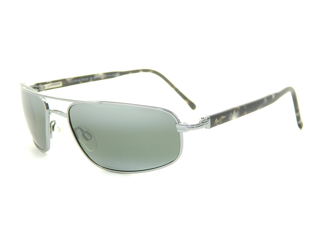 Maui Jim Kahuna 162-02 Gunmetal / Neutral Grey Polarized Sunglasses