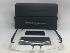 PORSCHE DESIGN P8209D S002-E87 Matte Black / Demonstration Lens 52mm Eyeglasses