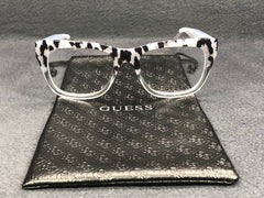 GUESS GU 2595/V 005 Black Blue Transparent / Demonstration Lens 52mm Eyeglasses