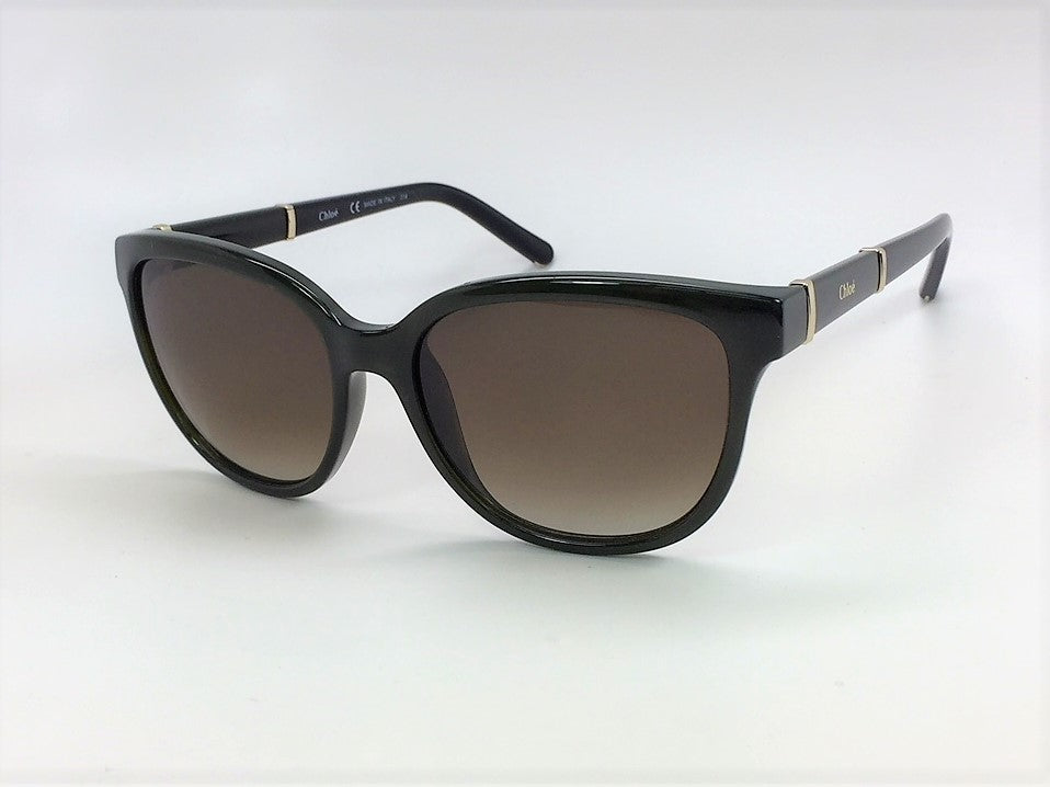 Chloé CE664S 303 Khaki / Dark Brown Gradient 54mm Sunglasses