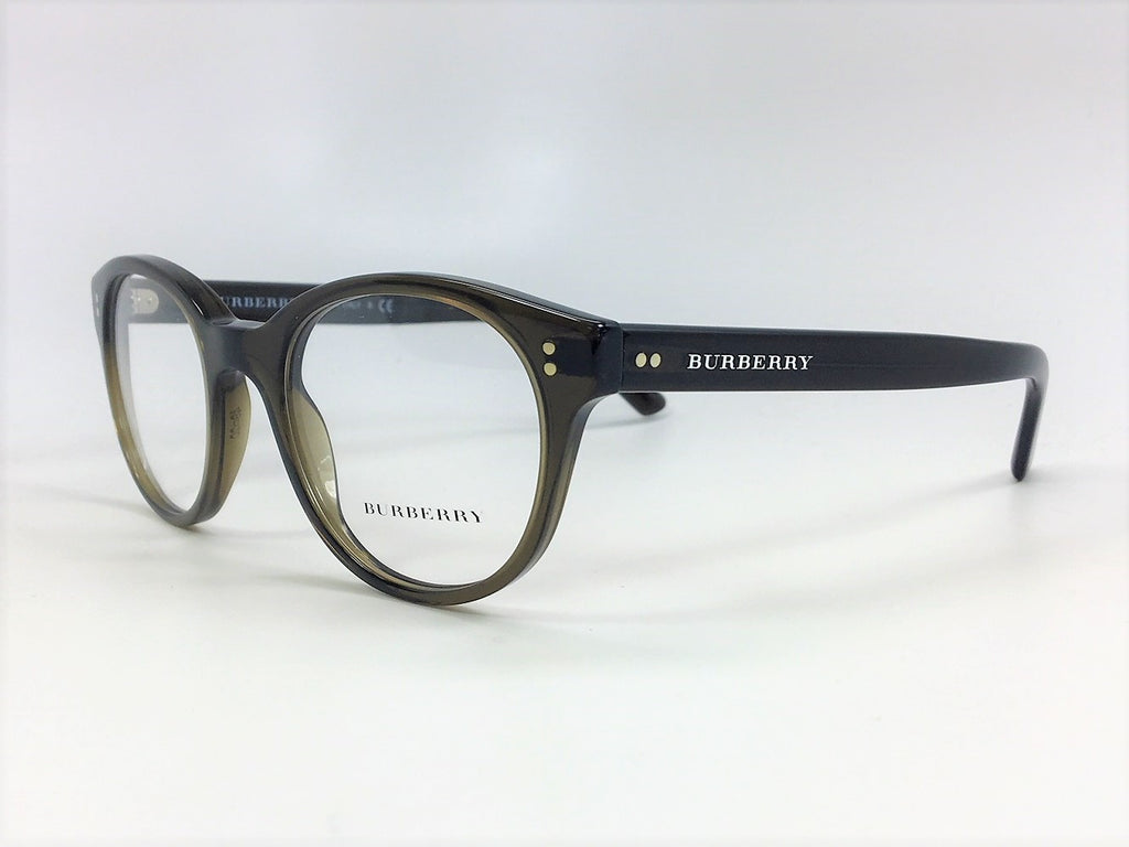 BURBERRY BE2194 3010 Olive Green / Demo Lens 48mm Eyeglasses