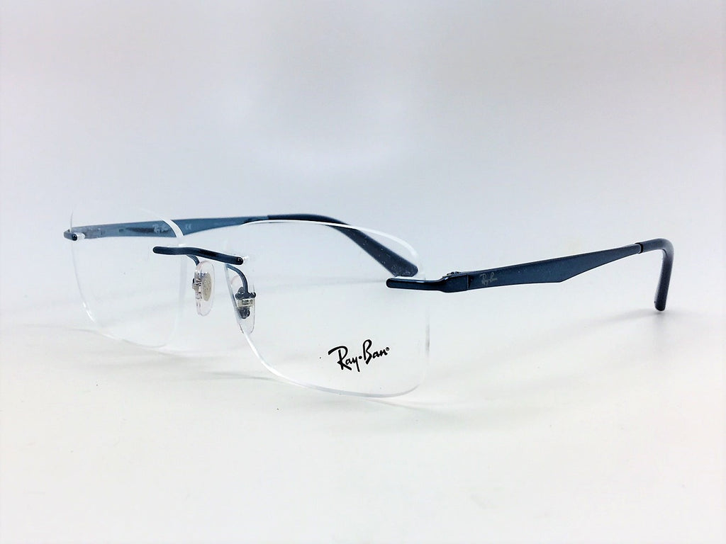 Ray Ban RX6385I 2900 Metallic Blue / Demo Lens 53mm Eyeglasses