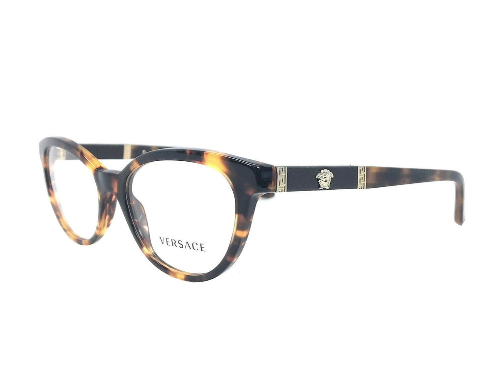 VERSACE VE3219Q 5148 Tortoise / Demo Lens 54mm Eyeglasses