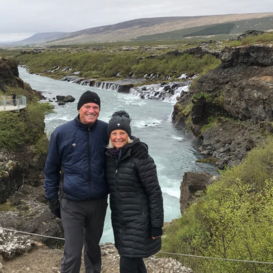 The Koehns Discover Warmth in Iceland