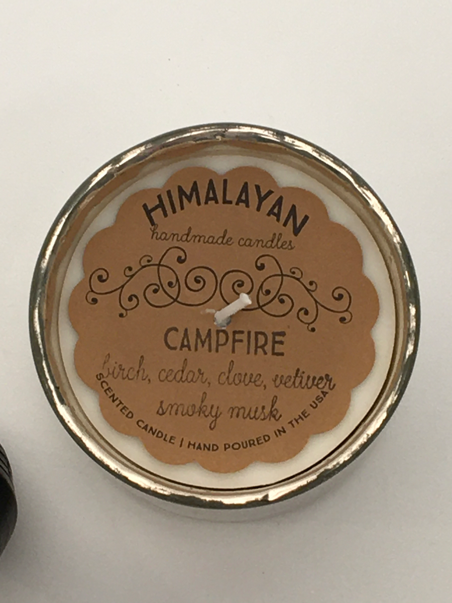 Himalayan Handmade Soy Wax Candles in Artisan Blown Glass