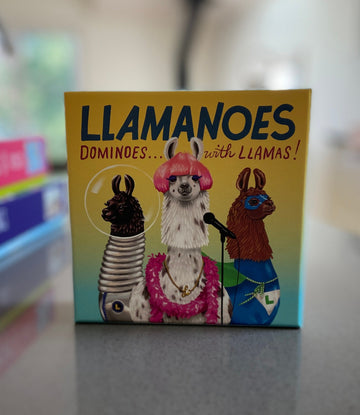 Llamanoes Dominoes...with Llamas!