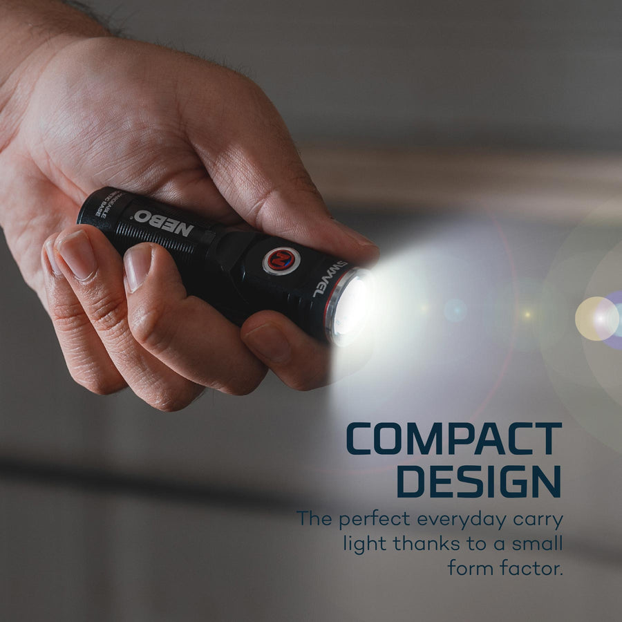 Swyvel Head Compact Flashlight