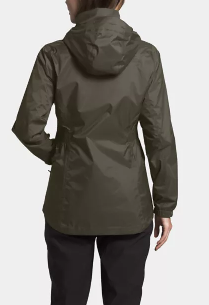 The North Face W Resolve Parka Rain Jacket - Black