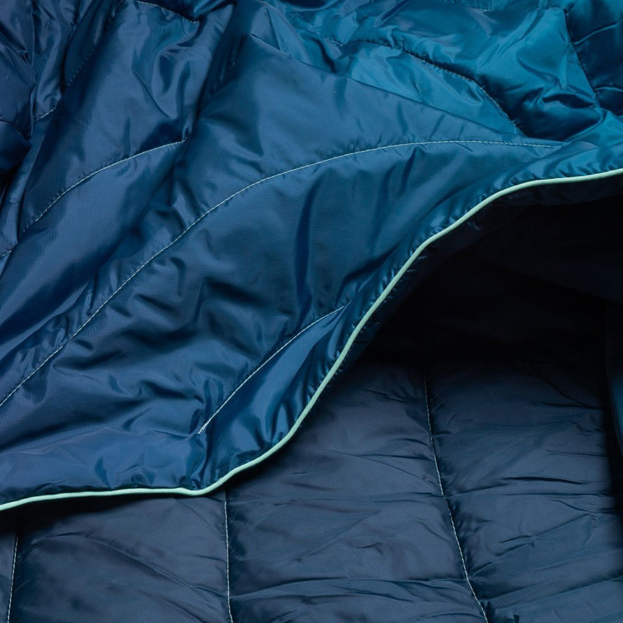 Rumpl Original Puffy Blanket Ocean Fade
