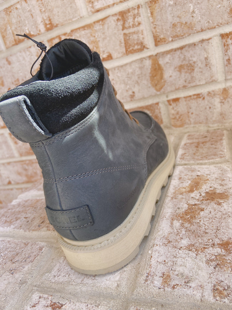 Madson Moc Toe Waterproof Boot Coal