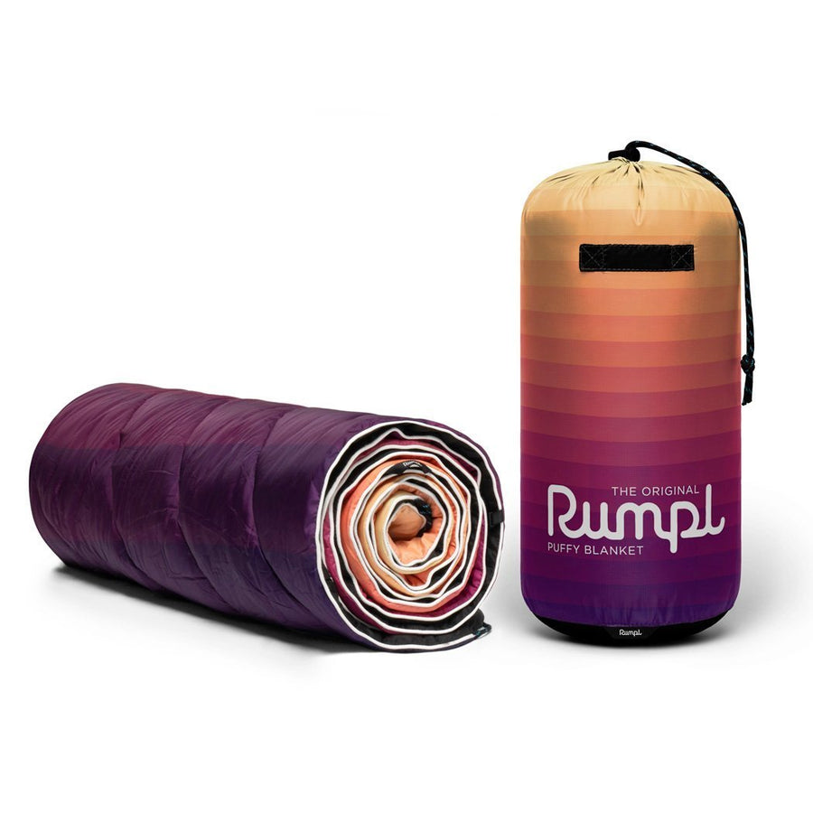 Rumpl Original Puffy Blanket Dawn Pixel Fade
