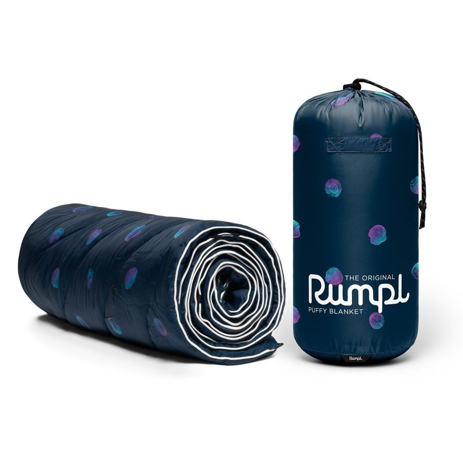 Rumpl Original Puffy Blanket Log Jam