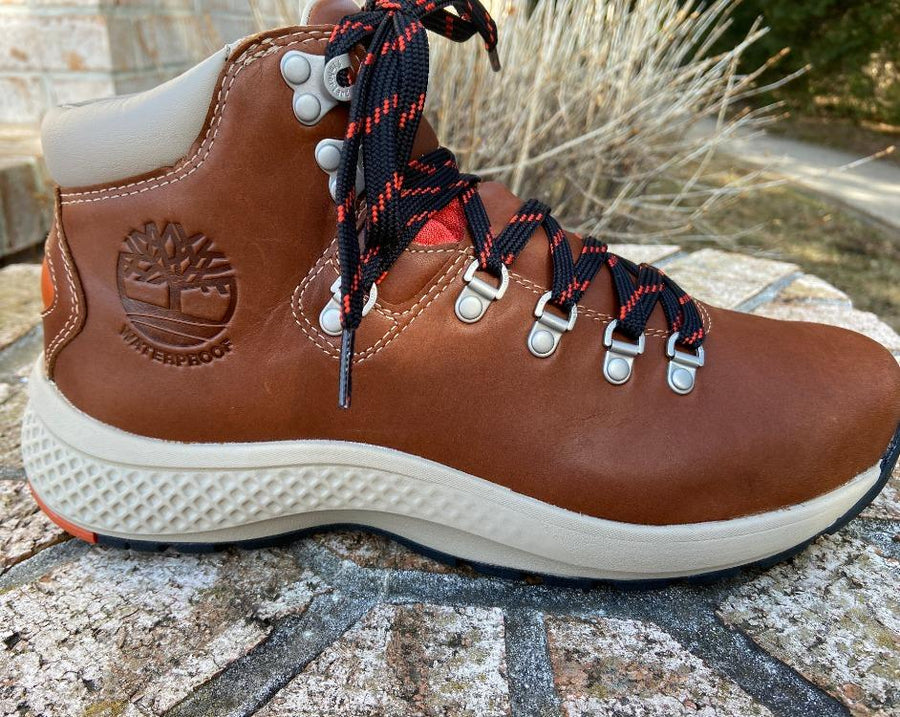 Timberland M's Flyroam Trail Waterproof Mid Hiker Leather