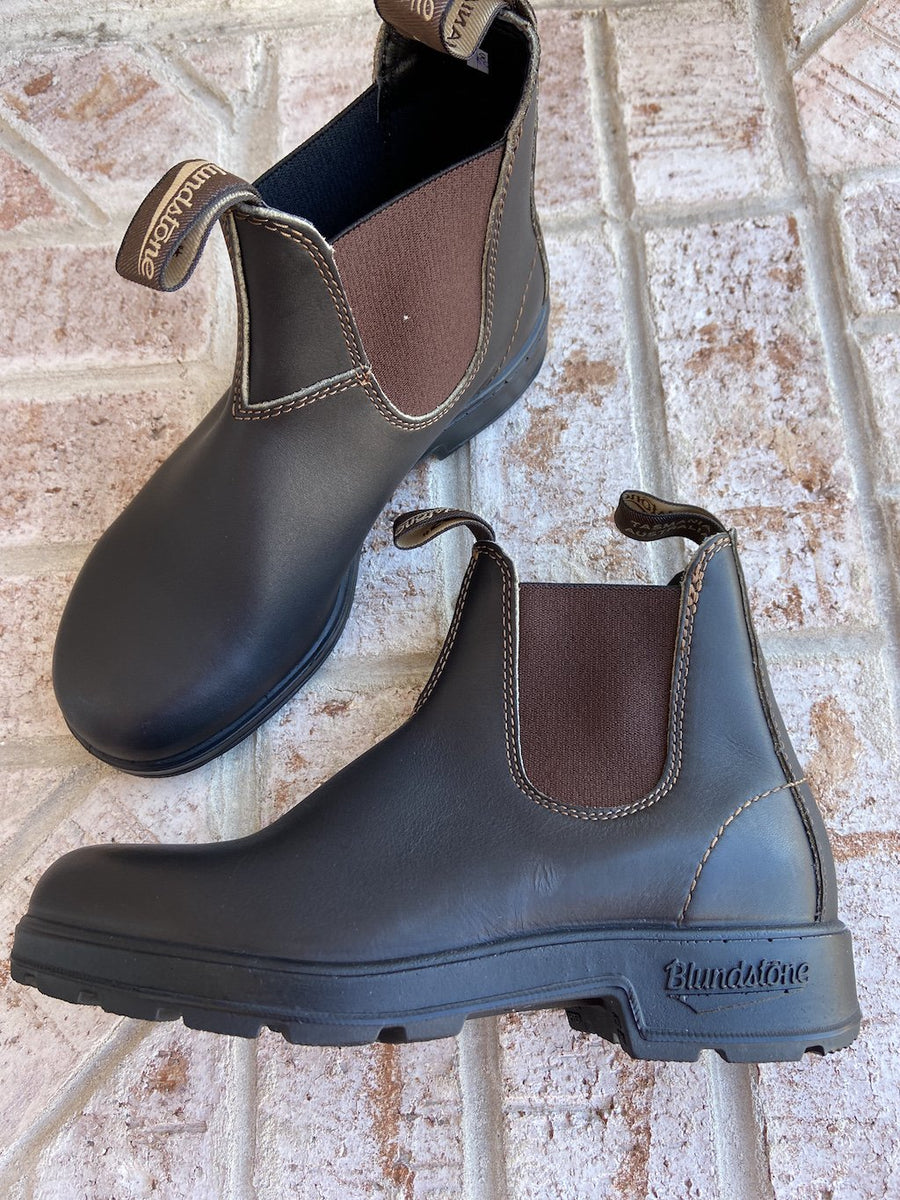 Blundstone 500 Original Boots in Stout Brown